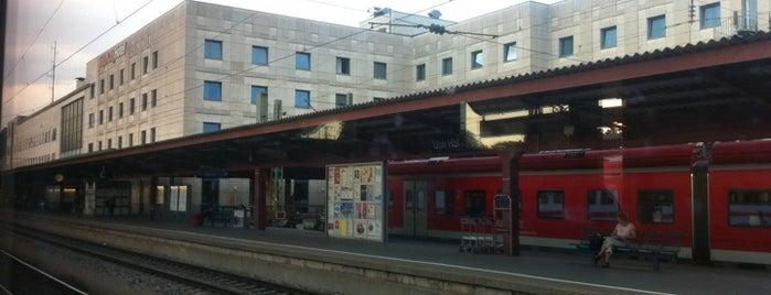 Ulm Hauptbahnhof is one of Ulm.