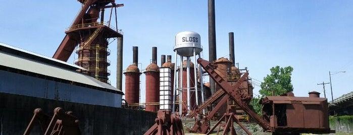 Sloss Furnaces National Historic Landmark is one of Steel City.