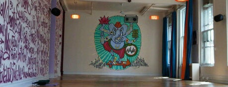 Laughing Lotus Yoga Center is one of NYC Fitness Faves.