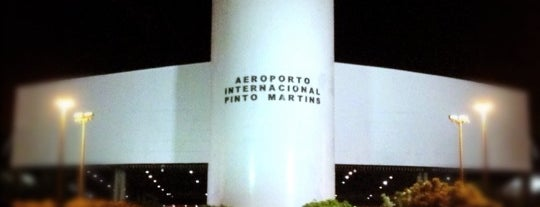Aeroporto Internacional de Fortaleza / Pinto Martins (FOR) is one of Free WiFi Airports.