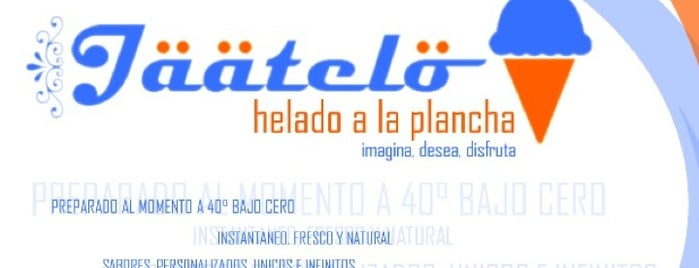 Jäätelo Helados a la Plancha is one of Tengo que probarlos.