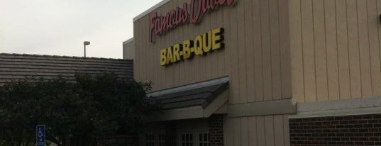 Famous Dave's BBQ is one of 20 favorite restaurants.