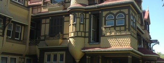 Winchester Mystery House is one of Paranormal Traveler.