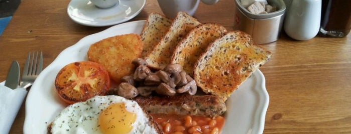 Duck Egg Cafe is one of London road.