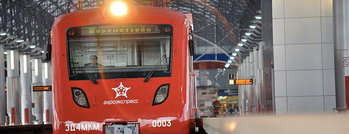 Aeroexpress Sheremetyevo (SVO) to Moscow is one of Бейдж Trainspotter.