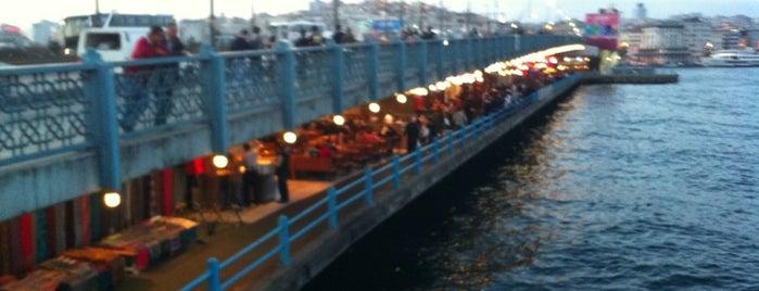 Galata Brücke is one of Tarih/Kültür (Marmara).