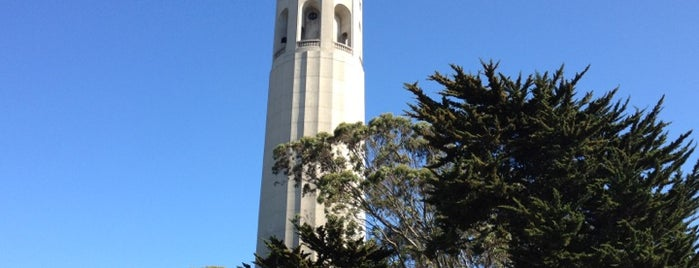 Coit Tower is one of San Francisco.