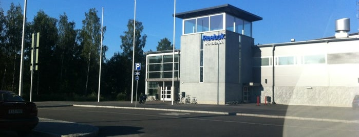 Leppävaaran jäähalli - Warrior Areena is one of Junior icehockey arenas.