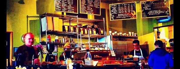 Coffee Garden is one of Favorite Local (Salt Lake City) Coffee Shops.