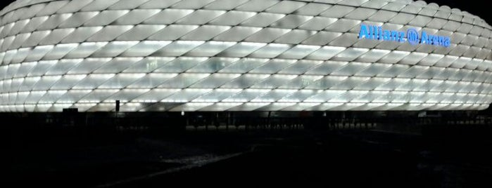 Allianz Arena is one of All the great places in Munich.