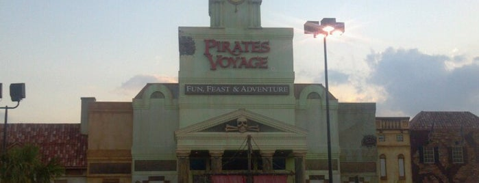 Pirates Voyage Dinner & Show is one of Things to Do.