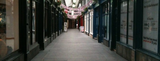 Royal Arcade is one of Wales - UK.