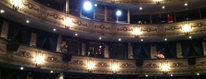 Teatro Cervantes is one of Málaga.