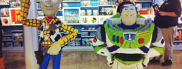 The LEGO Store is one of DISNEY.