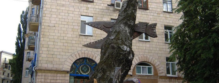 Крокодил з крильцями is one of Kiev_travel.