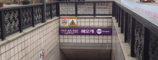 Aeogae Stn. is one of Subway Stations in Seoul(line5~9).