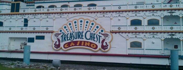 Treasure Chest Casino is one of OffBeat's favorite New Orleans music venues.