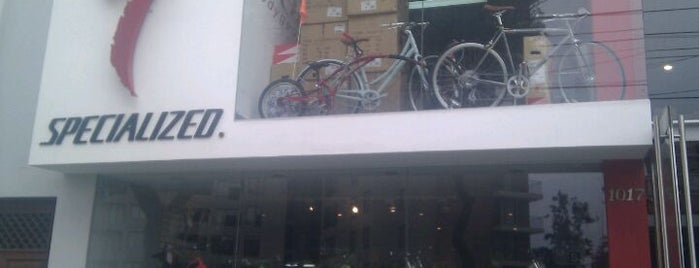 Specialized is one of bicletas: reparación y venta en Lima.