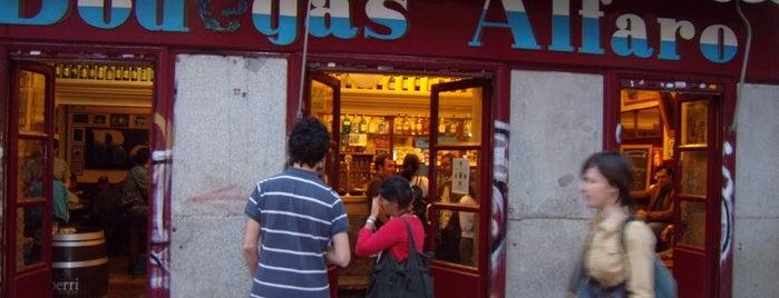Bodegas Alfaro is one of Madrid: de Tapas, Tabernas y +.
