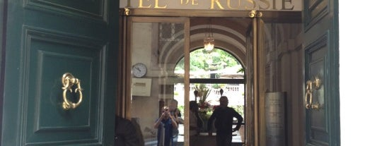 Hotel de Russie is one of Renan's Select: Rome.