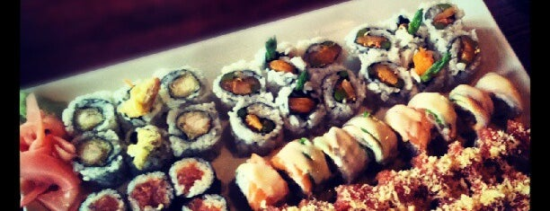 Samurai Sushi is one of New eats.