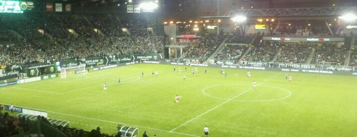 Providence Park is one of Major League Soccer Stadiums.