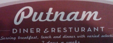 Putnam Diner is one of Well-Dined.