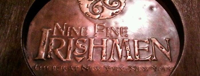 Nine Fine Irishmen is one of Best Live Entertainment.