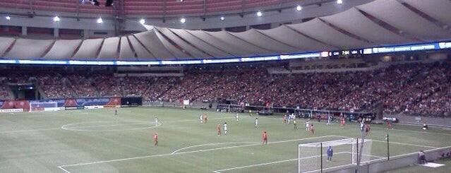 BC Place is one of Stadiums.