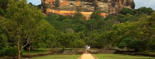 Sigiriya Rock is one of UNESCO World Heritage Sites (Asia).