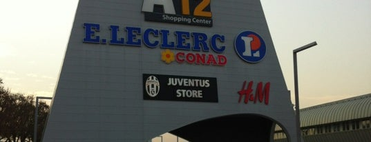 Area12 Shopping Center is one of Centri commerciali Torino e dintorni.