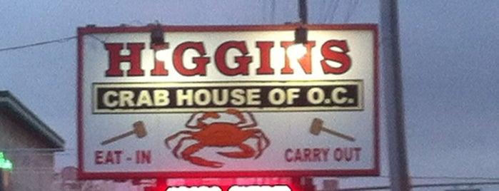 Higgins Crab House is one of FOOD!.