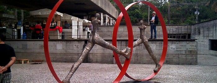 Museu Brasileiro da Escultura (MuBE) is one of Best places in São Paulo, Brasil.