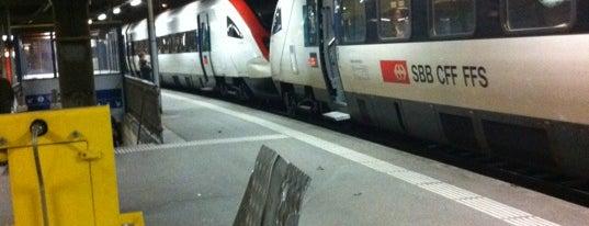 Gare de Moutier is one of Bahnhöfe.
