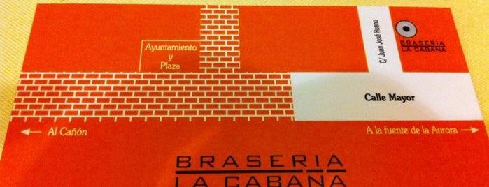 Brasería La Cabaña is one of MUST.