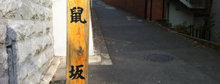 鼠坂 is one of 坂道.