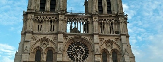 Cathedral of Notre Dame de Paris is one of Paris.