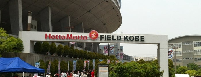 Hotto Motto Field Kobe is one of Japan Baseball Studium.