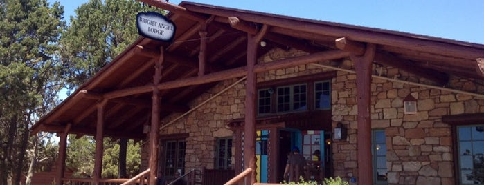 Bright Angel Lodge is one of Historic Hotels to Visit.