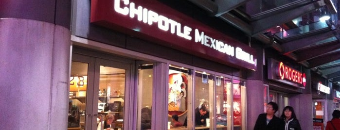 Chipotle Mexican Grill is one of Toronto Restaurant Bucket List.