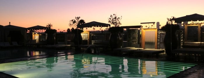 Altitude Rooftop Pool At SLS Hotel is one of Los Angeles.