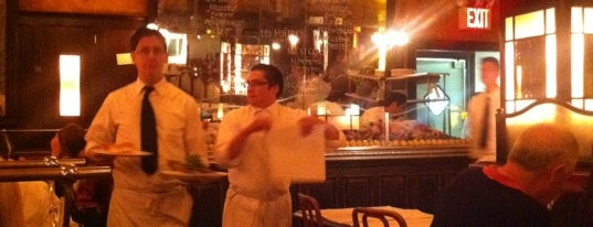 Balthazar is one of The Platt 101: NYC's Best Restaurants.