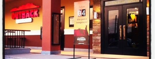 Outback Steakhouse is one of ParkShoppingSãoCaetano.
