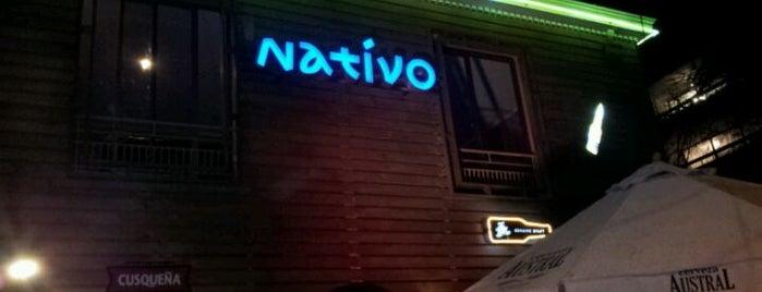 Nativo is one of Restaurantes, Bares, Cafeterias y el Mundo Gourmet.
