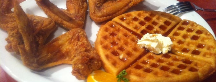 Gladys Knight's Signature Chicken & Waffles is one of Summer in Georgia.