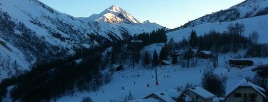 Saint-Sorlin-d'Arves is one of Stations de ski (France - Alpes).