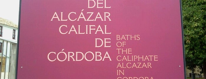 Baños Del Alcázar Califal De Córdoba is one of Córdoba.