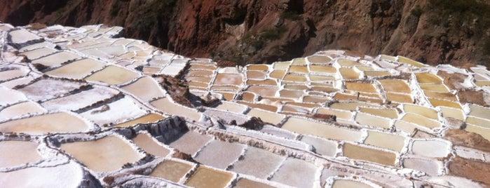 Las Minas de Sal de Maras is one of Perú.