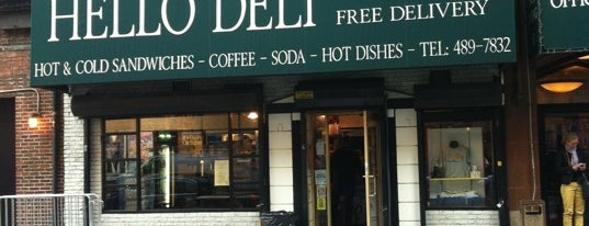 Rupert Jee's Hello Deli is one of NYC.
