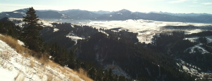 """College """"M"""" Trail is one of The Best of the Gallatin Valley."""